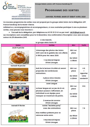 Programme des sorties janvier à avril 2020 Haute-Vienne.PNG